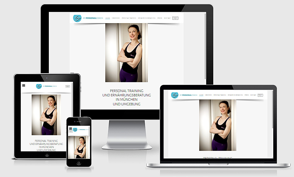 Responsive Webdesign Mypersonalcoach
